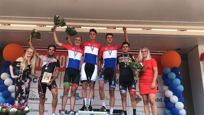 Twan van der Drift wint nationale titel bij Nieuwelingen MTB https://t.co/5zbXTlChWO https://t.co/g7LbyngtJP