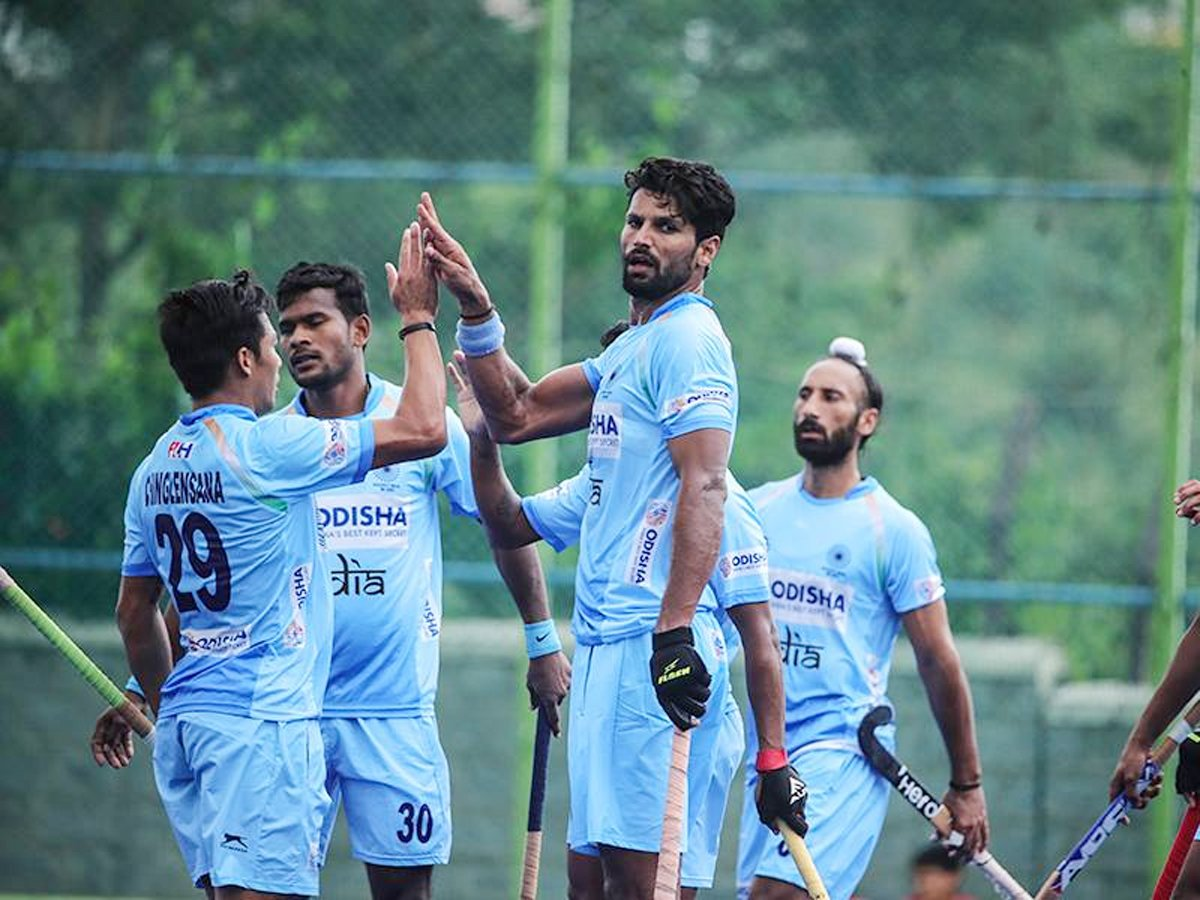 Many congratulations to @TheHockeyIndia team on white washing the series against #NewZealand. Keep it up! Here's to many more victories in the future.