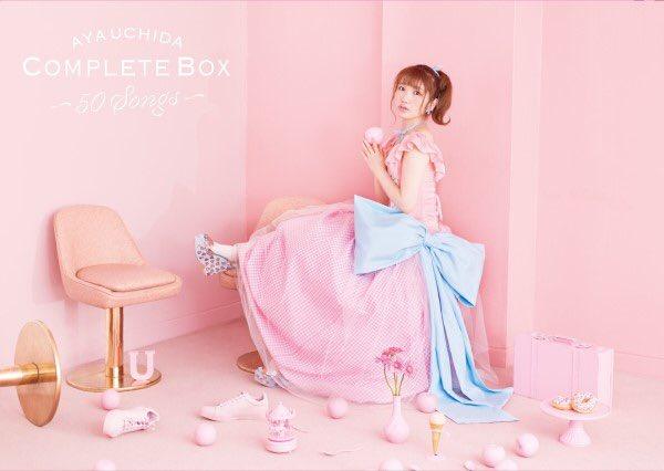 AYA UCHIDA Complete Box ~50Songs~に関する画像13