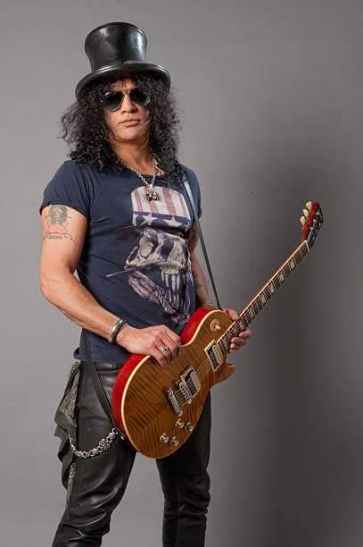 Slash (Saul Hudson / Guns N\ Roses) Birth 1965.7.23 Happy Birthday