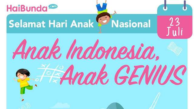 Selamat Hari Anak, Anak-anak GENIUS https://t.co/s1XGyzykoW via @haibundacom https://t.co/MFZUyhxrSL