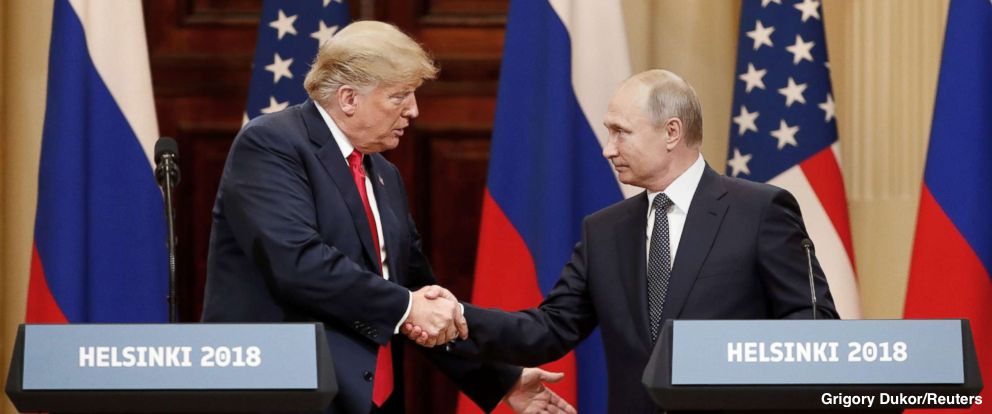 56% of Americans disapprove of Pres. Trump expressing doubt in joint press conference with Vladimir Putin about U.S. intelligence conclusions that Russia tried to influence U.S. election, new ABC News/WaPo poll finds; just 29% approve. https://t.co/YEQB8O0m3A