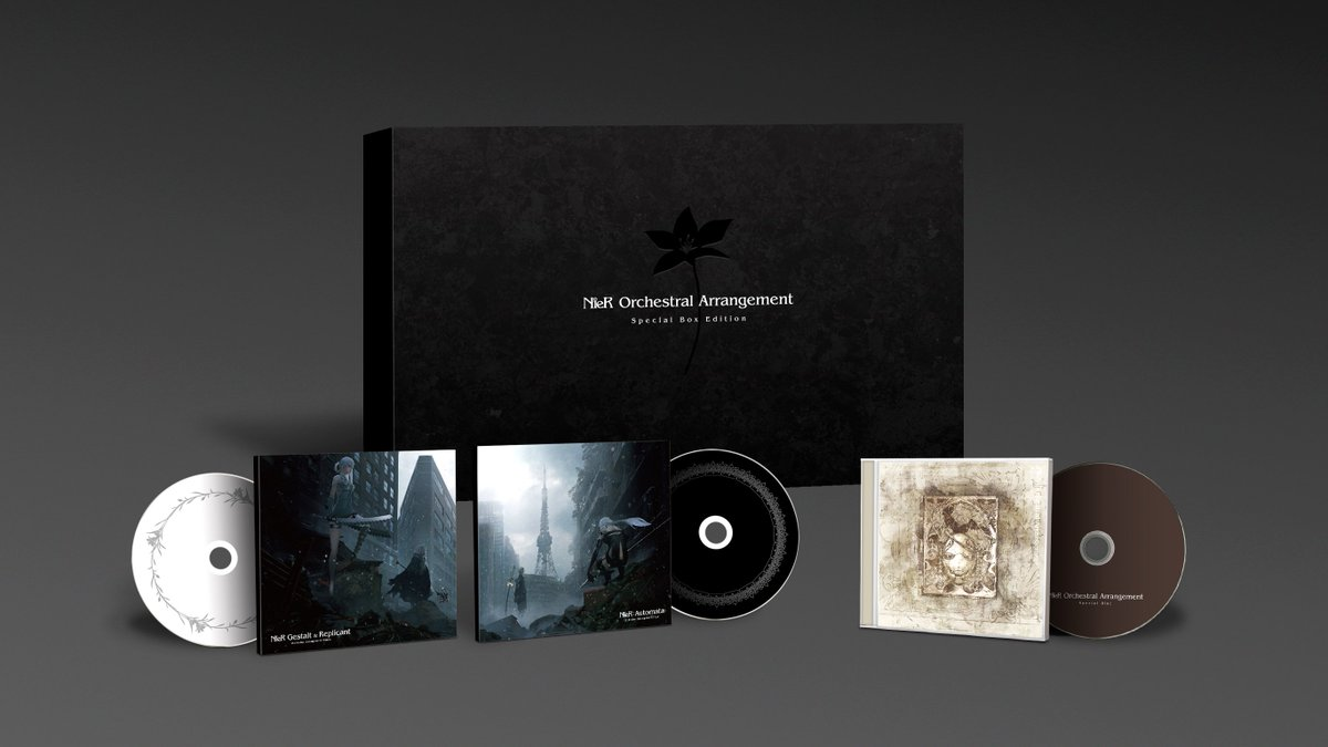 NieR Orchestral Arrangement Special Box Editionに関する画像3