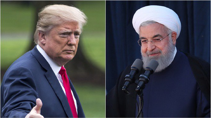 'Never ever threaten us again' - @realDonaldTrump sends fiery Twitter warning to Iranian president Rouhani https://t.co/51g3q5d5ZM