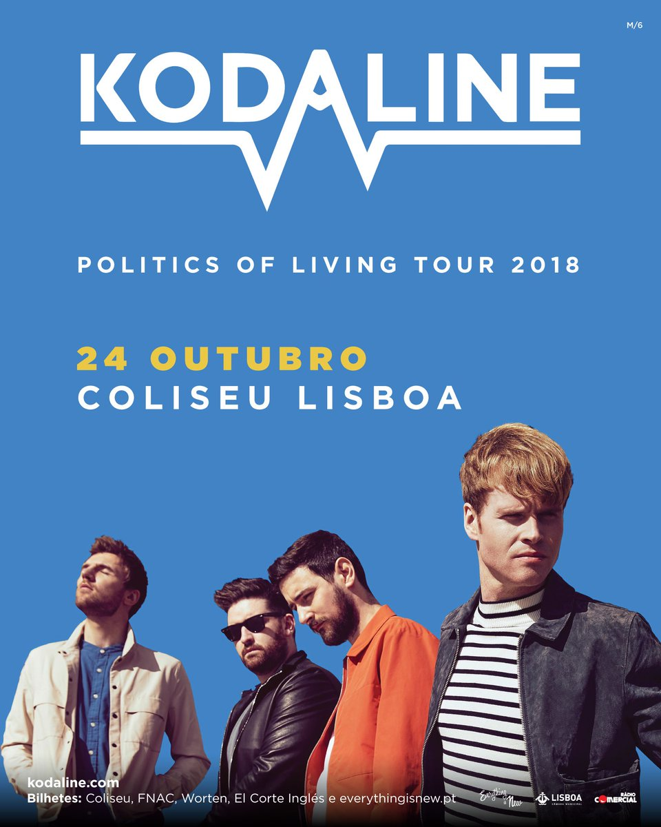 PORTUGAL! Told you we didn't forget about you! LISBON date added to the European leg of the #PoliticsOfLivingTour Tickets on sale this Tuesday @ 9am. Can't wait to see your lovely faces again VSMJ<br>http://pic.twitter.com/cooPruTbOb