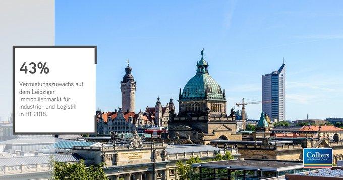 Der Leipziger Industrie- und Logistikimmobilienmarkt erzielte im ersten Halbjahr 2018 einen Flächenumsatz von über 104.000 m².<br>Alle Ergebnisse des #Logistik-Immobilienmarktes in #Leipzig sehen Sie in unserer #Infographic auf einen Blick:  t.co/yKBRuiPGjq