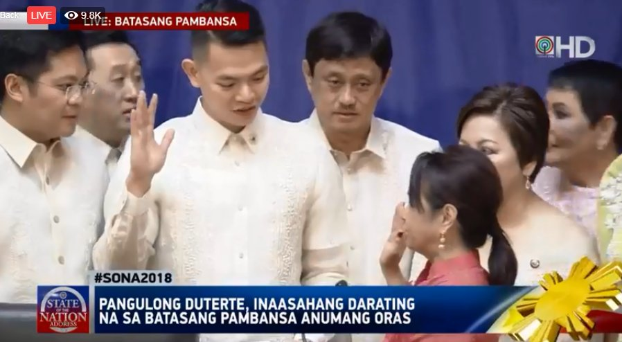 LOOK: Arroyo takes oath as new House Speaker