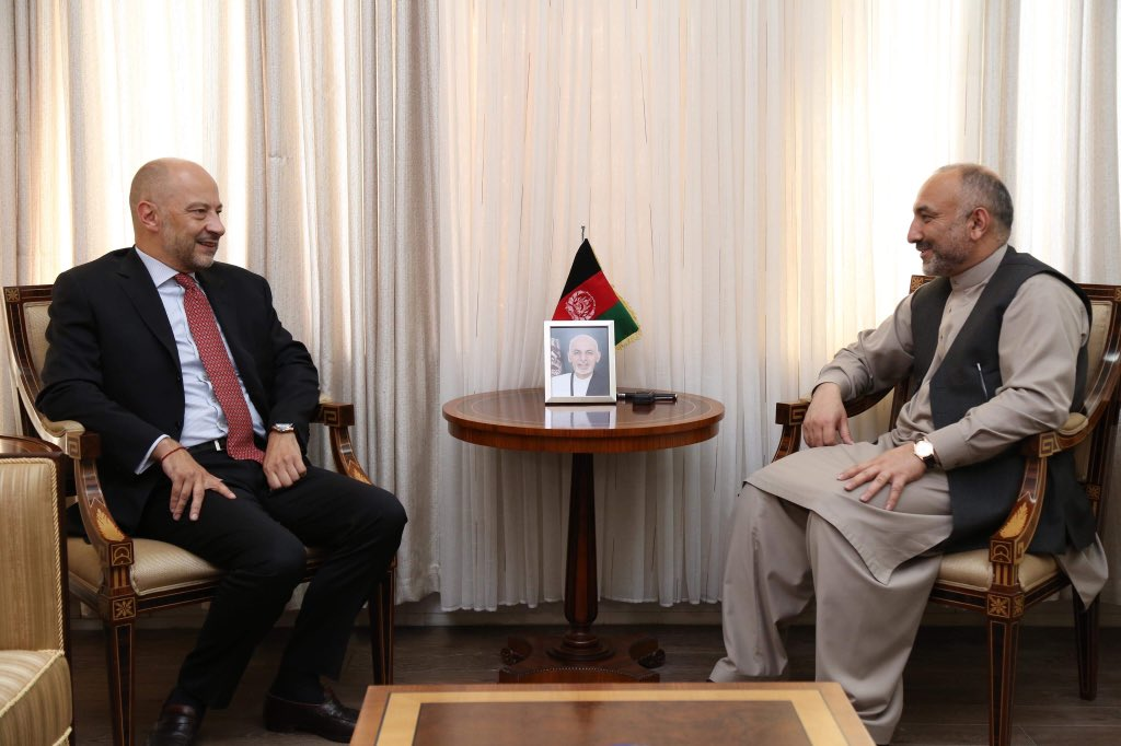 France has been a pillar of support to Afghanistan in the recent #NATO Summit. In my recent meeting with #Frances Ambassador to #Afghanistan, @AmbassadeKaboul Francois Richier we discussed counter-terrorism cooperation and cooperation on the migration issues.