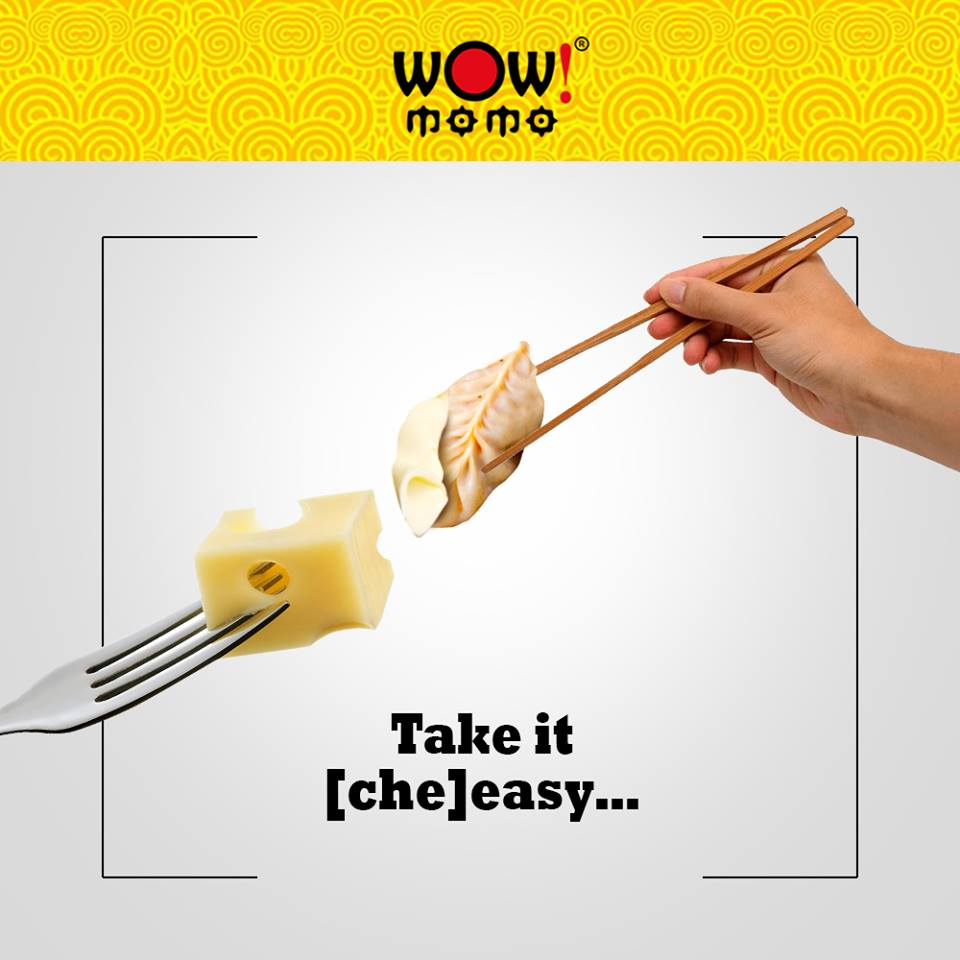 Life becomes easy-peasy with a little bit of cheesy. Life is too short not to have chicken cheese momo.  #WowMomo #MomoLove #CheeseMomo #MomoMania #LoveForFoodpic.twitter.com/dP85xQ9sie