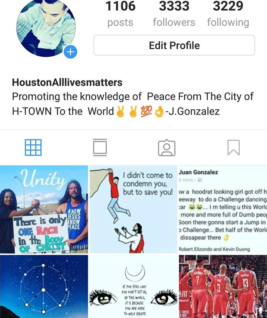 Follow my Instagram houstonAlllivesmatters  #Houstonalllivesmatters #Alllivesmatters #peace #Followforfollow #follow4follow #Follow<br>http://pic.twitter.com/QFllILls5C