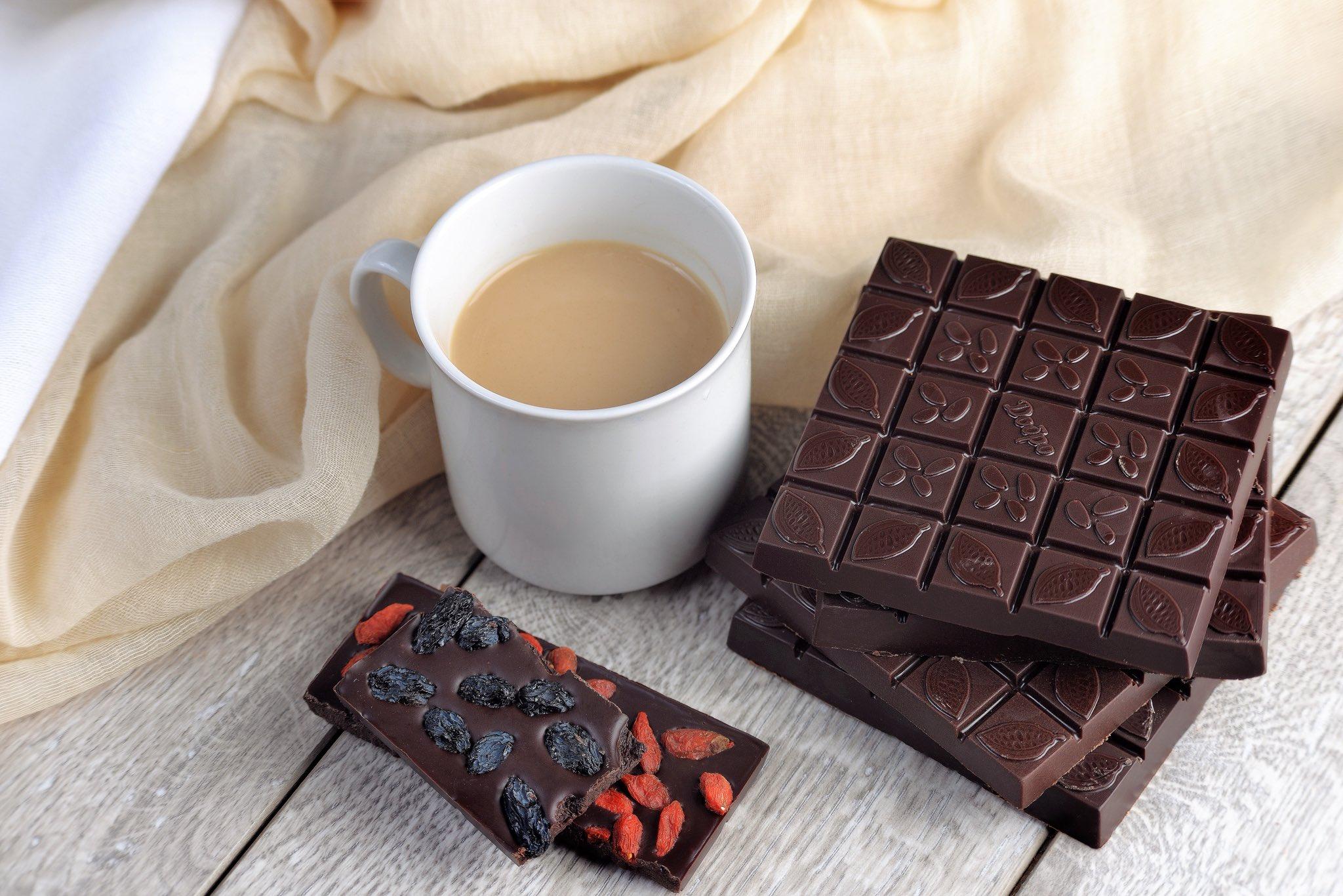 кофе и черный шоколад картинки тому