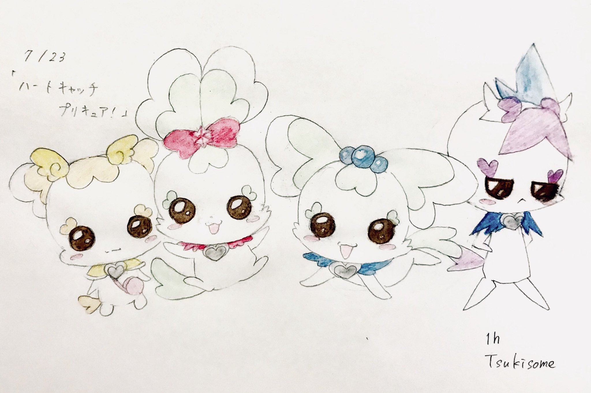 桃染 (@tsukisome2001)さんのイラスト