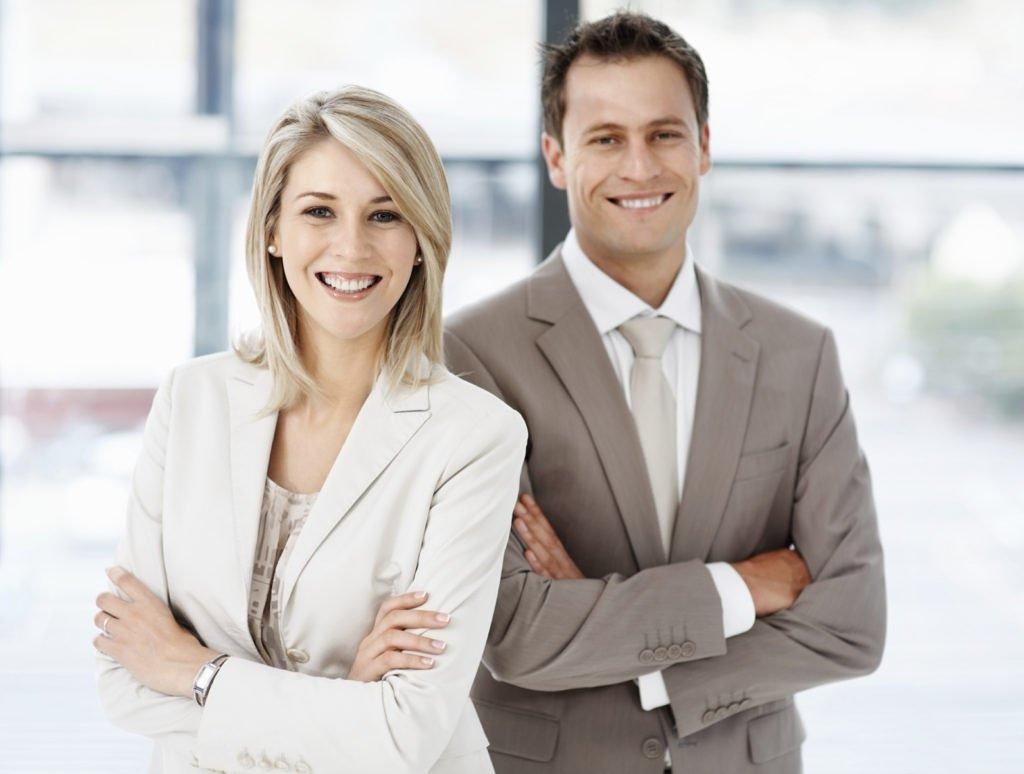 Картинки мужчины и женщины деловые