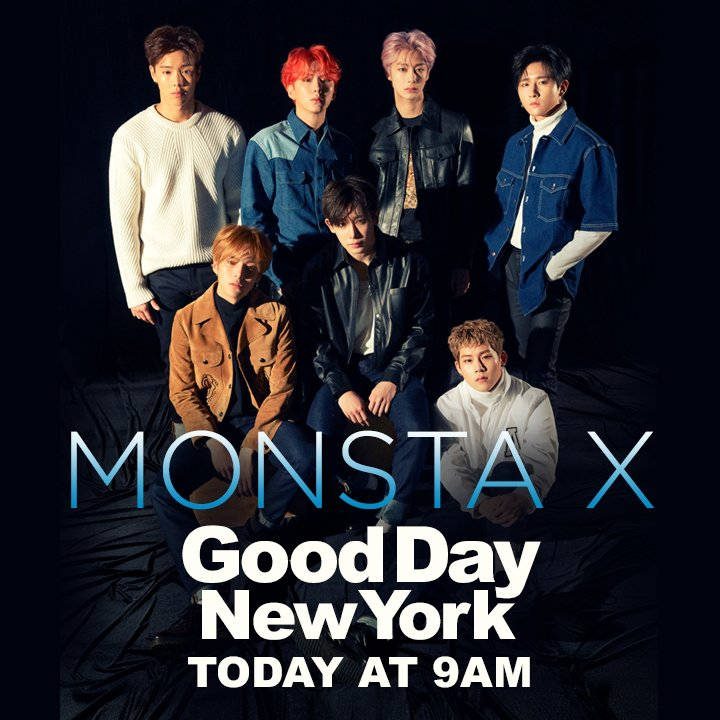 Are you ready?  @OfficialMonstaX is on #GDNY this morning.