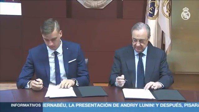 �� #WelcomeLunin �� Andriy Lunin https://t.co/0Cx3FWLM8w