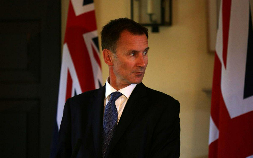 Britain's new foreign minister Hunt warns of no-deal Brexit risk https://t.co/ZfChXX51xq https://t.co/ONepiCrSZb