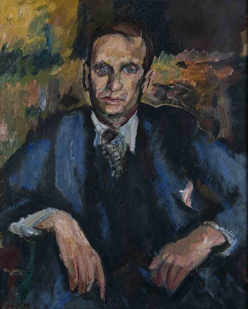 David Bomberg, John Rodker, c. 1931, Oil on canvas, Ben Uri Collection   © Ben Uri Gallery and Museum, courtesy of David Bomberg estate (Photography © Justin Piperger)