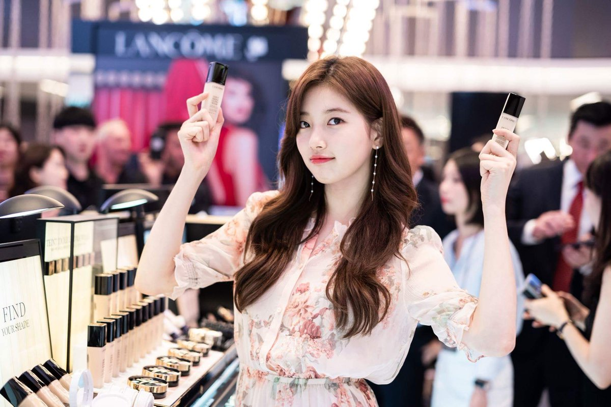 "[PIC] 180719 LANCOME ""MAKE UP IS MY POWER"" Global Campaign Launch Event   LANCÔME KOREA Facebook 🔗 https://www.facebook.com/lancomekorea/   #Suzy #BaeSuzy #수지 #배수지 #LANCOME #랑콤"