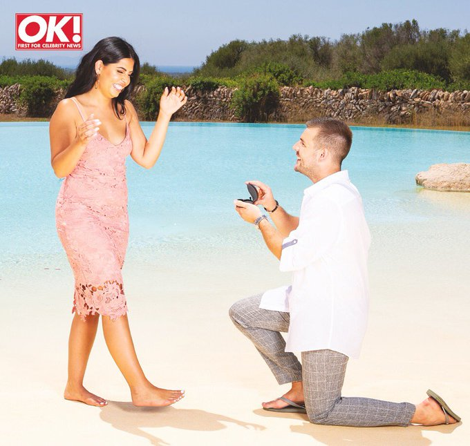 Words can not describe how I am feeling right now! Nathan finally proposed 🥂💍❤️ Read our exclusive chat