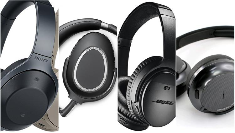 3b39731948f Block out the rumbling noise of the train or the crying baby on the plane  with some of 2018's best noise-cancelling headphones ...