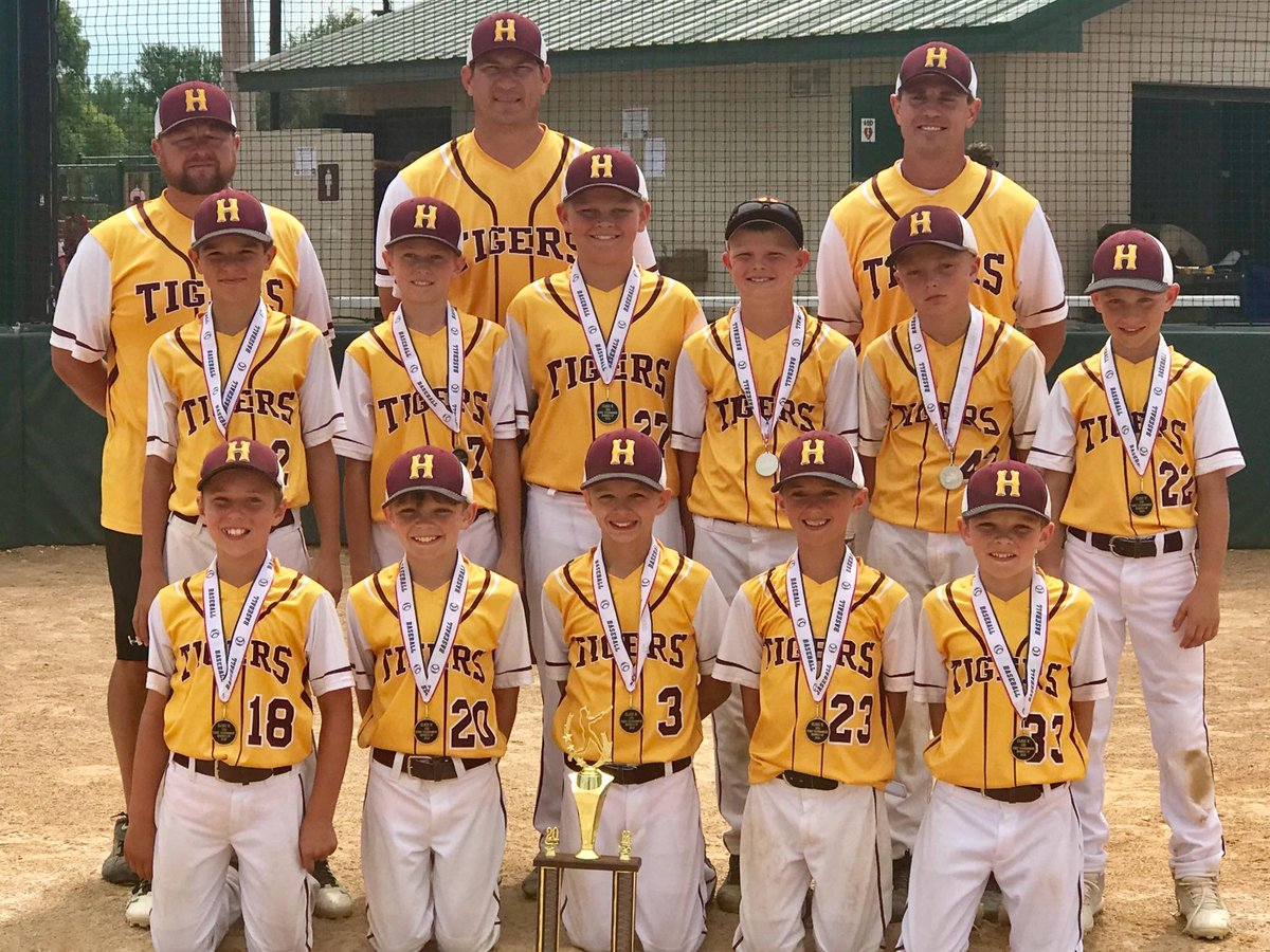 Harrisburg Baseball On Twitter Congratulations To The 10u Harrisburg Tigers On Their Runner Up Finish At The 2018 State Tournament In Mitchell Go Tigers Https T Co Swccgrabg1