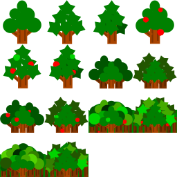 大和局長 Unityでゲーム制作 木の素材を公開しました ついでに りんごを添えてあります イラスト 素材 Game 背景 大和局長のゲームラボ ゲーム素材 木は背景素材 T Co Cfulxsmdbj