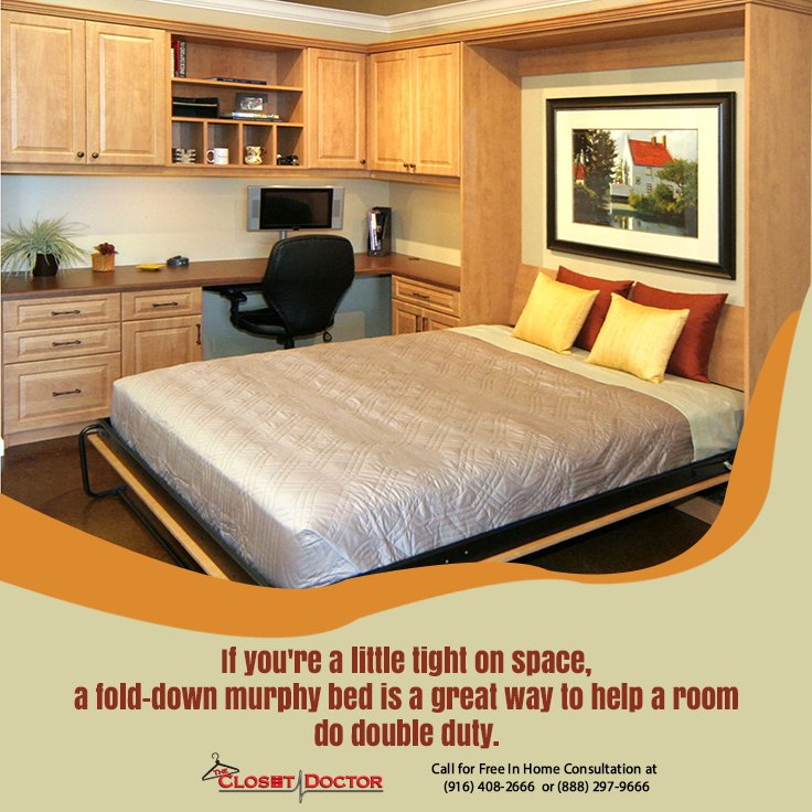 Try Our 3 Day Wall Beds Option For Your Last Minute Guests At: Https://www. Closet Doctor.com/3 Day Murphy Beds U2026pic.twitter.com/lz7jbr7Jkz