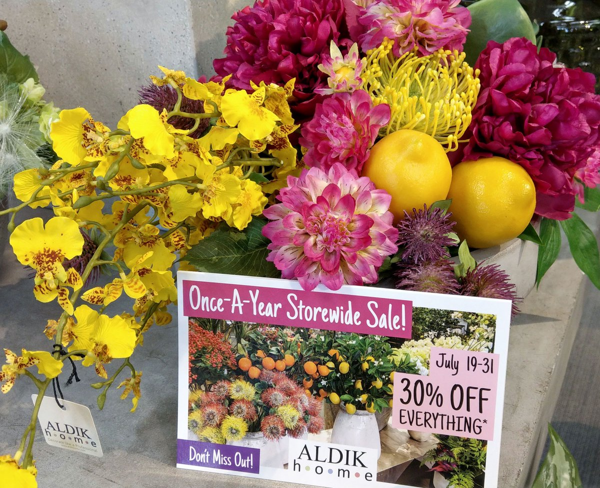 Aldik home aldikhome twitter from gorgeous silk trees to stunning arrangements theres never been a better time to shop and save hurry inpicittert1oxvvosgz mightylinksfo