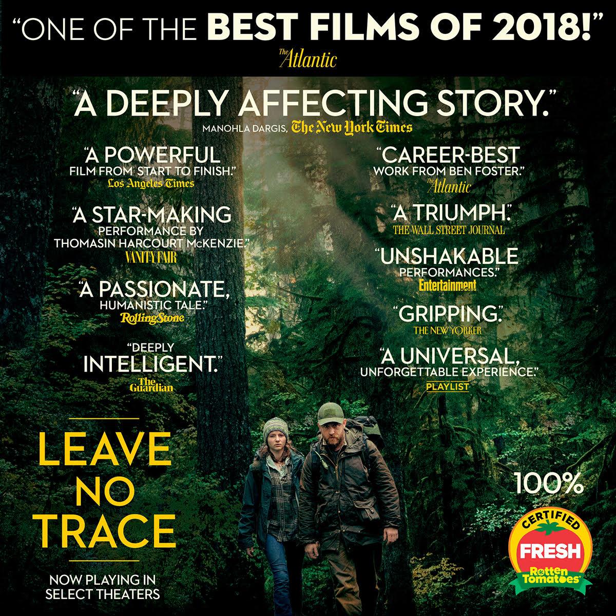 Leave No Trace Movie Leavenotracemov Twitter