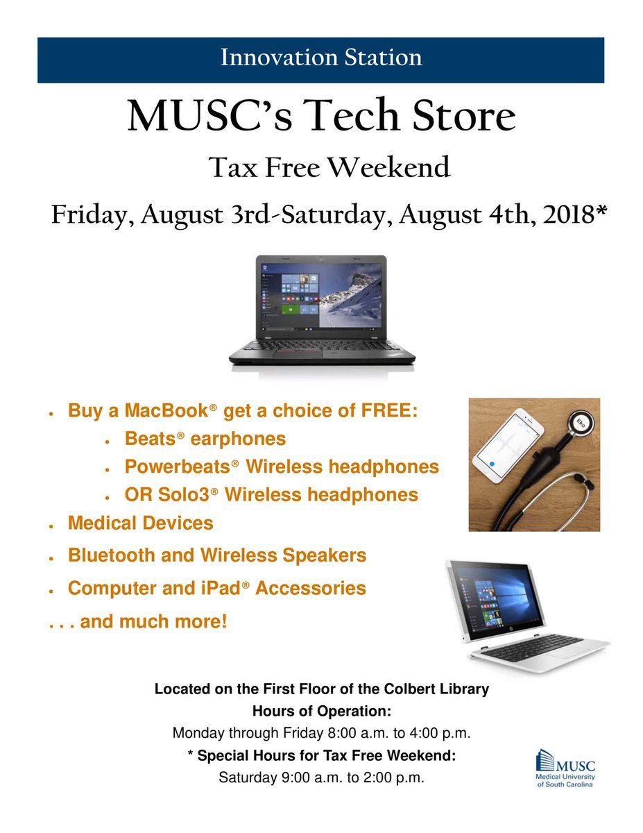Innovation Station (@MUSC_TechStore) | Twitter