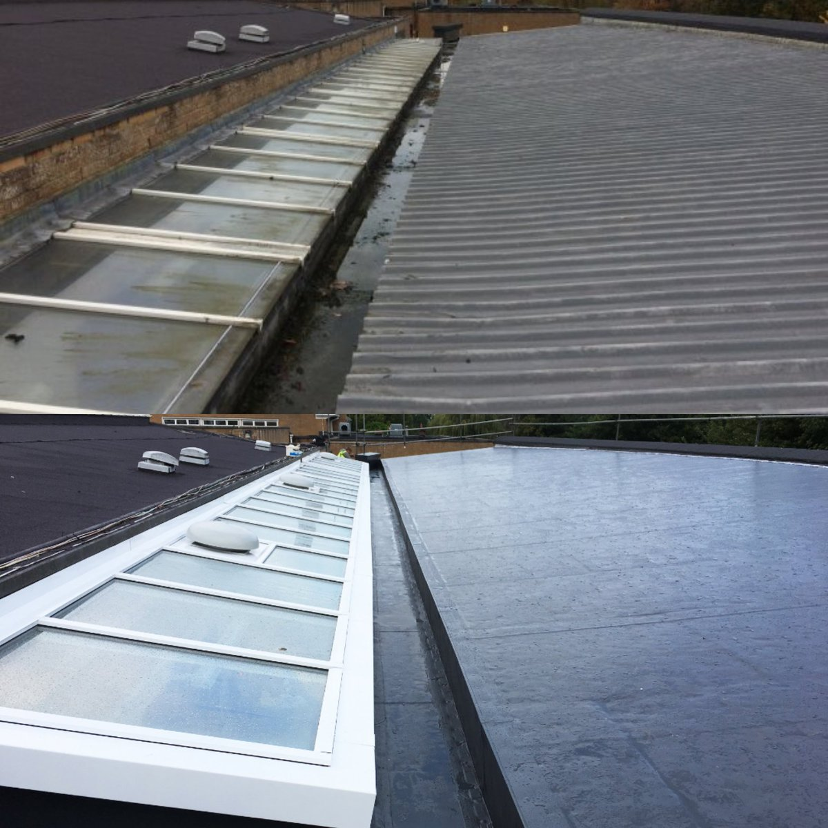 Bauder Flat Roofs On Twitter Our Profiled Roof Overlay System Is The Ideal Solution For Waterproofing Profiled Sheet Metal Roofs And Upgrading Their Thermal Properties Its Bespoke Eps Insulation Board And Single