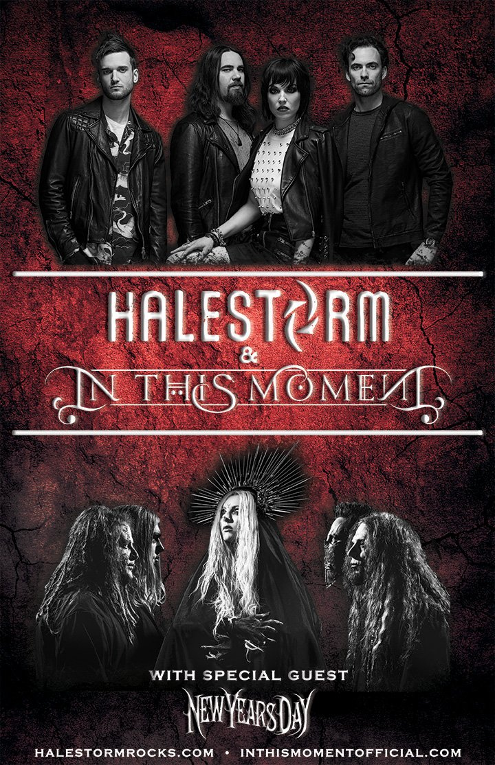 Halestorm on twitter the halestorm official fan club has all the were stoked to be bringing our new record vicious and a whole lot of rock and roll to your city general on sale is friday 10am localpicitter m4hsunfo