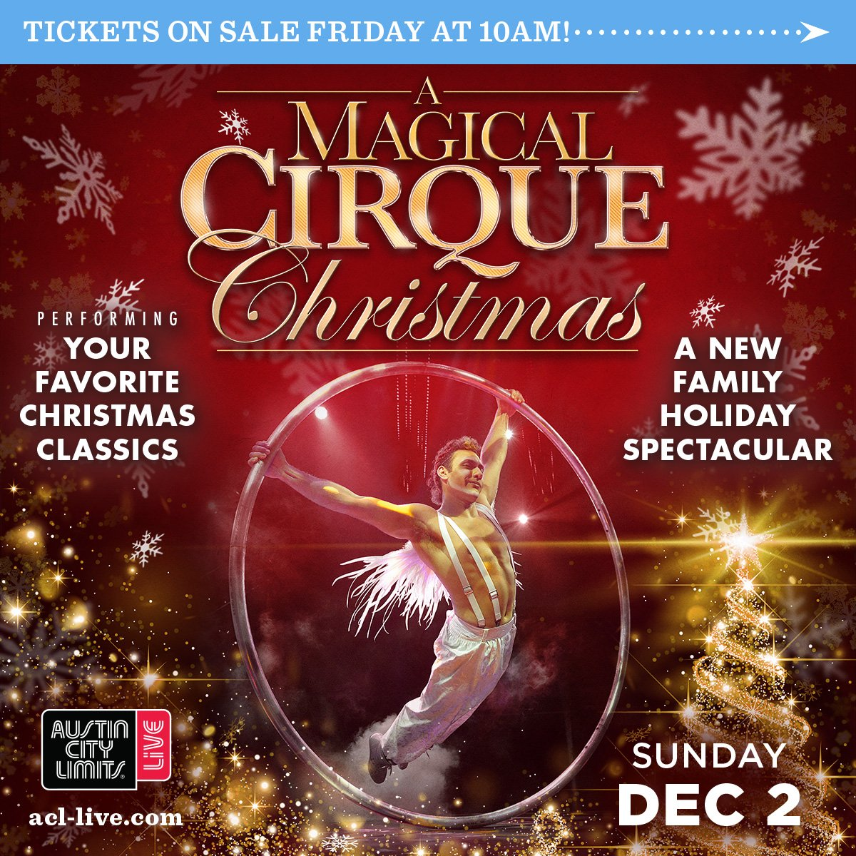 Cirque Christmas.Acl Live On Twitter Just Announced A Magical Cirque