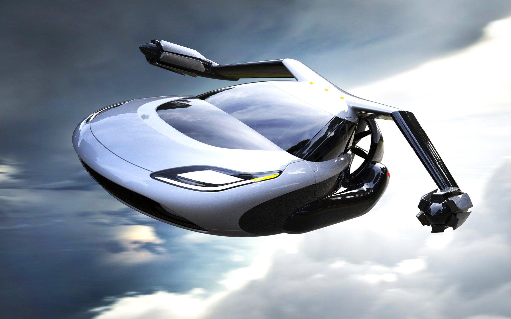 летающий автомобиль фото сам смог