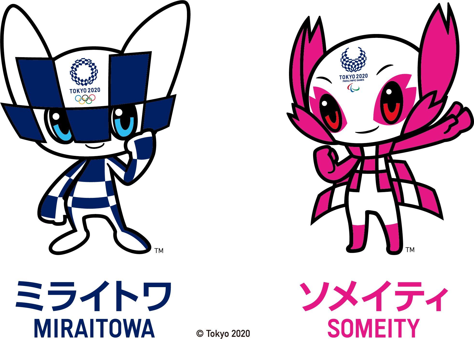 Twitter À¤ªà¤° Team Deutschland Konnichiwa Miraitowa Und Someity Das Sind Die Maskottchen Fur Die Olympischen Links Und Paralympischen Rechts Sommerspiele 2020 In Tokio Wir Freuen Uns Auf Euch Wirfuerd Teamd Roadtotokyo