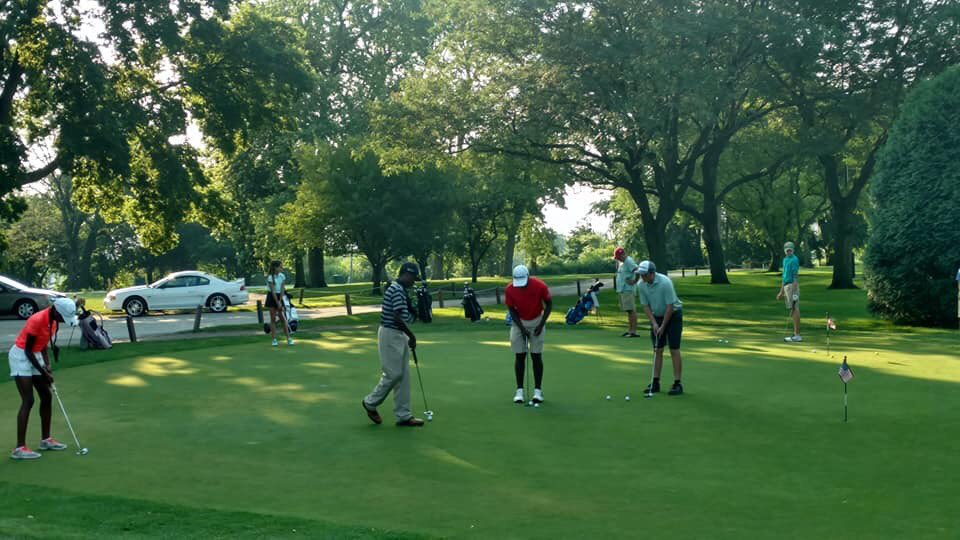 Kids get their turn to compete today and tomorrow. Good luck to all in the 46th City Junior Amateur tournament @ChicagoParks Jackson Park Golf Course!