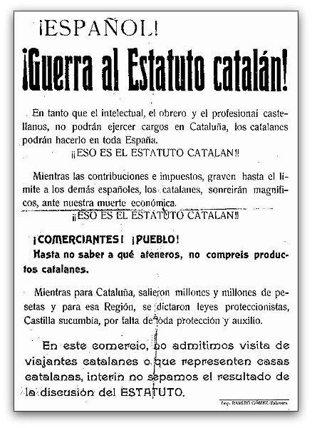 Resultado de imagen de estatuto catalan 1932
