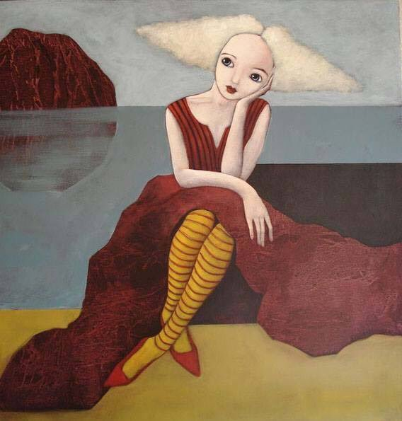 Evelina Oliveira   Portugal Waiting for New Days #womenpainters<br>http://pic.twitter.com/N8vqHFQbq4