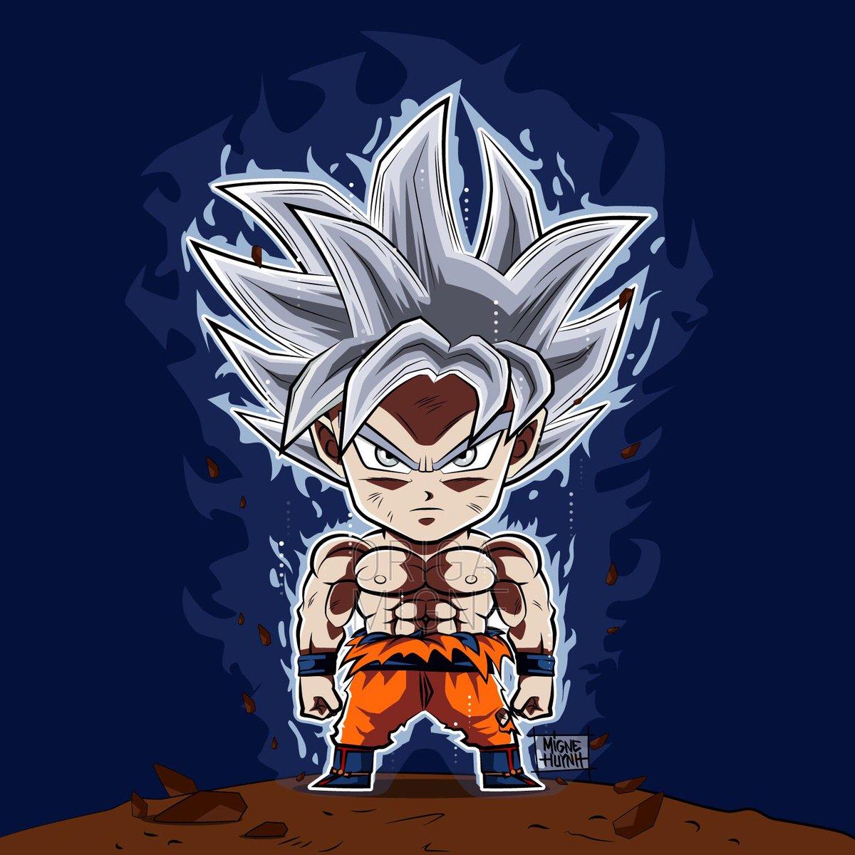 Migne Sur Twitter Goku Ultra Instinct Maitrise Dragonballsuper