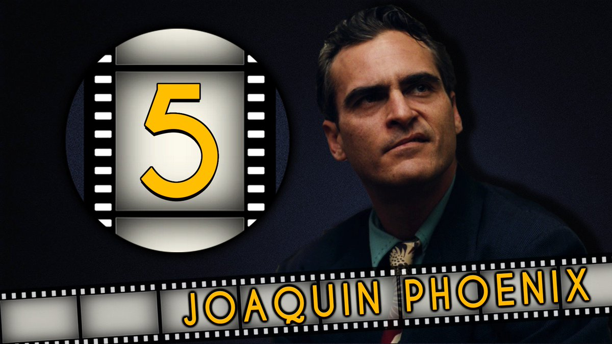 What are the top FIVE Joaquin Phoenix roles? Check out which made our list!  https:// youtu.be/hjCwPVt4Ofs  &nbsp;   #FilmFanaticShow #JoaquinPhoenix <br>http://pic.twitter.com/w5mlEQaruL