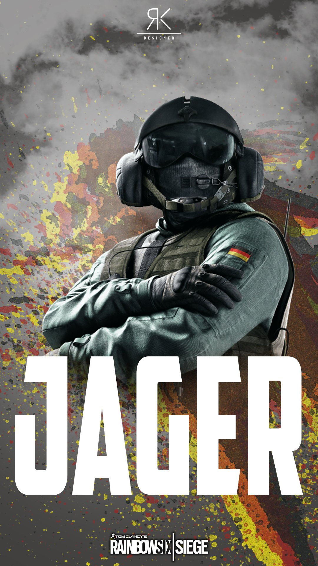 Roy On Twitter Jager R6s Iphone Wallpaper