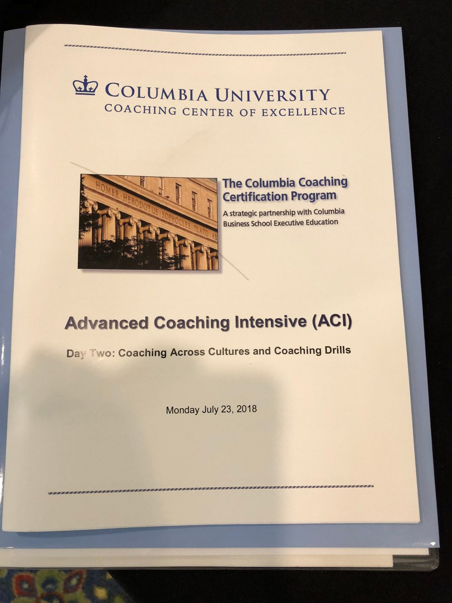 Terrence E Maltbia On Twitter Aci20 Cucoaching Dr