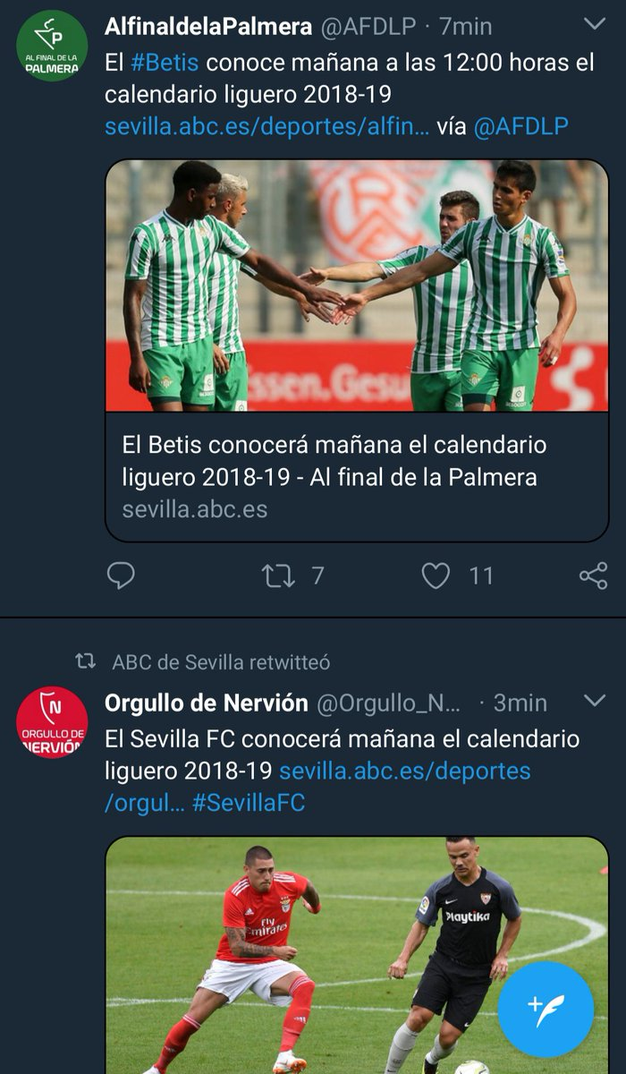 Al Final De La Palmera Calendario.No Piques On Twitter Opn Esto Es Curioso Mirad Los Dos