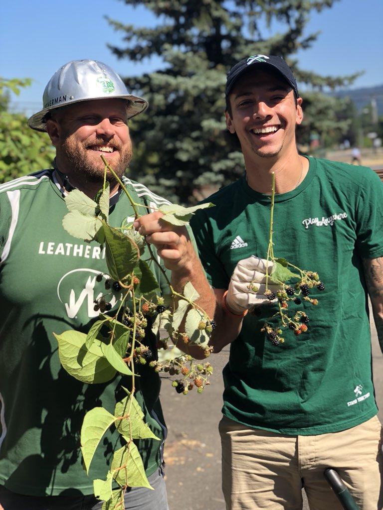 Portland Timbers On Twitter Buddy Bench Helping Zarekvalentin Make Friends Timberjoey Rosecityroadtrip Rctid