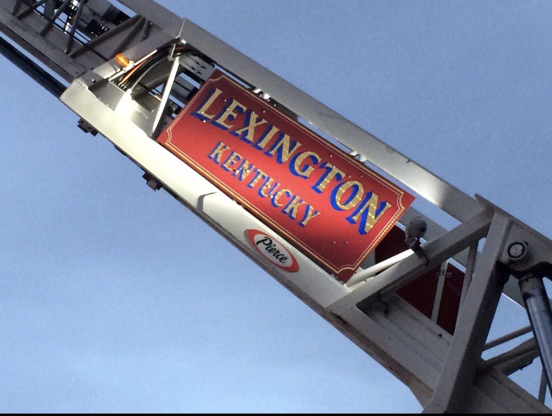 Lexington's Bravest on Twitter:
