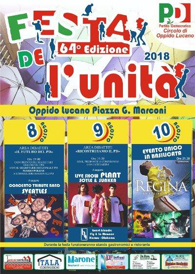 #Oppido lucano sarà protagonista della 64° edizione della festa dell\