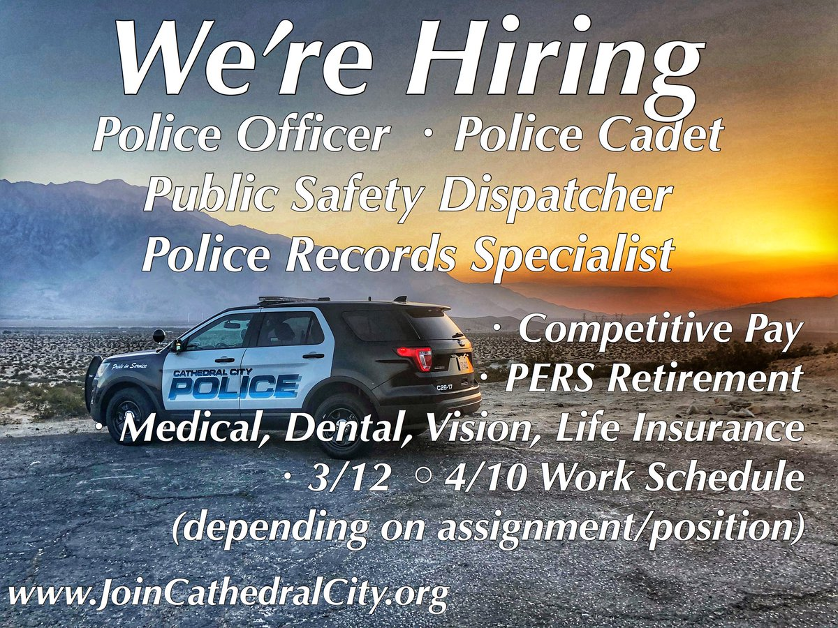 CathedralCityPD photo