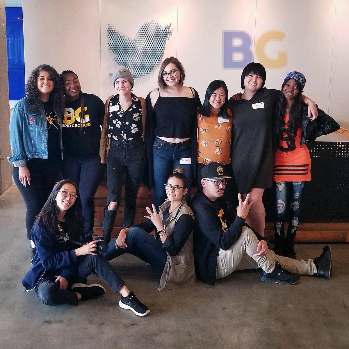 Down with ya till the very end... #ODsquadd x #BGsquadd x #OaklandDigital x #BRIDGEGOOD x #TWMTDW x #LoveWhereYouWork x #DesignForSocialGood | Join the #creativity movement &amp; #dopest ecosystem at http://www. bridgegood.com  &nbsp;  <br>http://pic.twitter.com/SF27pWnqP7