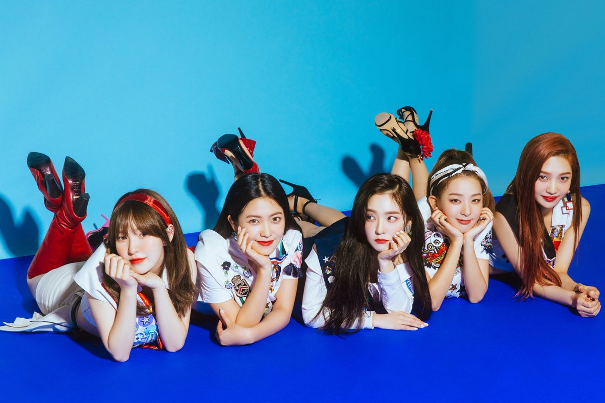 5redvelvet On Twitter Official 180807 Red Velvet Summer Magic