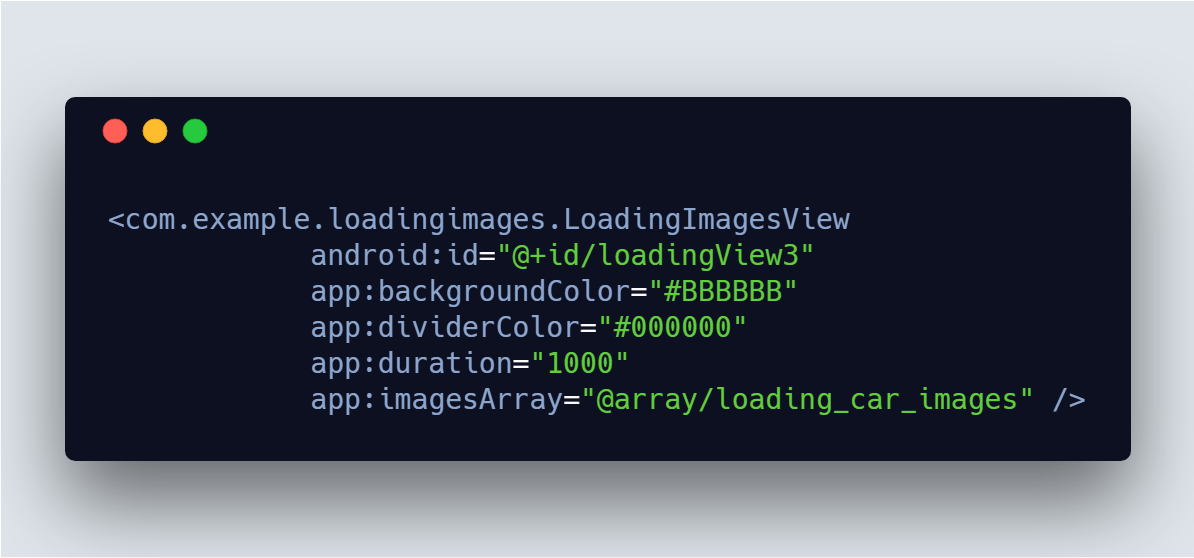 Source code : Add Android Loading Animation with Images Changing